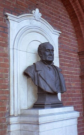 Markham Bust at RGS